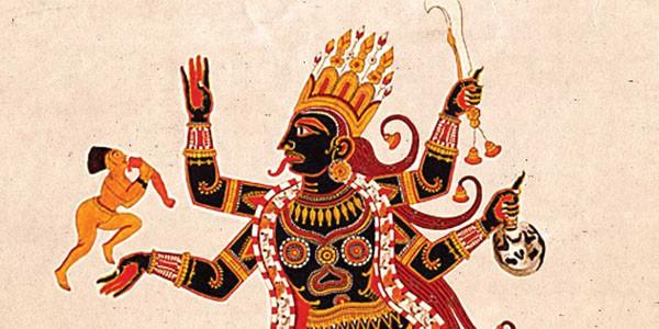 Tantric Kali cover detail