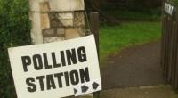 Pollingstation, photo by Matt Brown