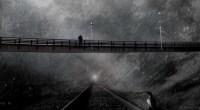 Bridge, railway, image by H Koppdelaney