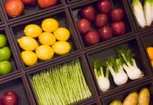 Fruit & vegetable box, photo by Ali Karimian