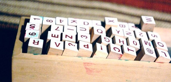 Letters, photo by davide vizzini