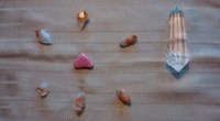Crystal grid, photo by Susan Starr