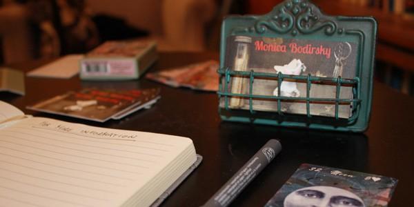 Monica Bodirsky's notebook, photo by Jenna Danchuk