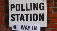 (December) Polling station, photo by Pete