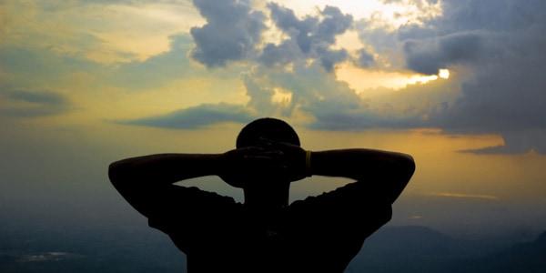 Silhouette, photo by Vinayak Shankar Rao