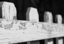 White picket fence, photo by John Matthies