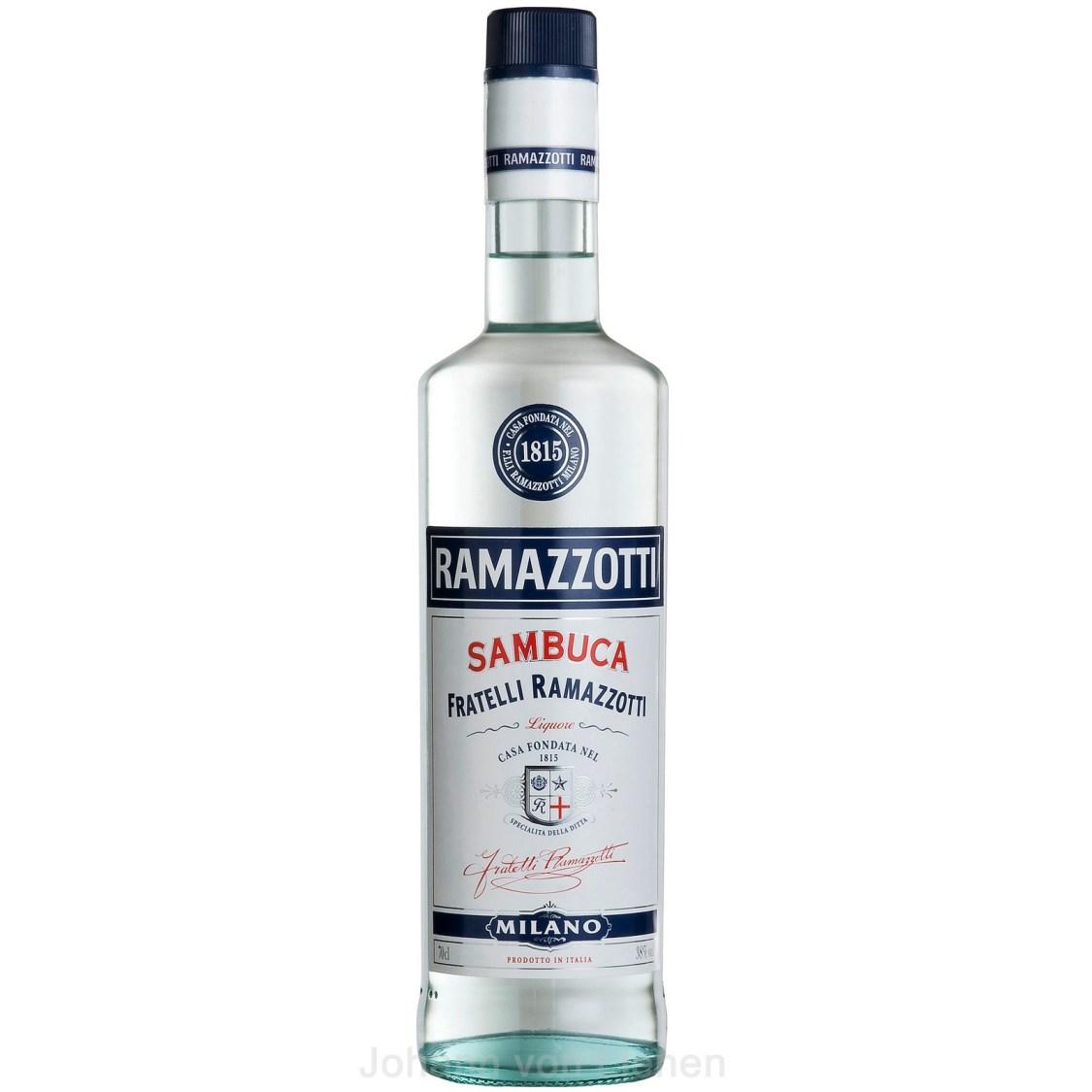 Sambuca Ramazzotti 0,7 L 38%vol  Anislikör aus Italien