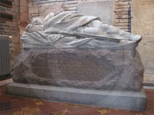 Dr John Rae Memorial in St Magnus cathedral
