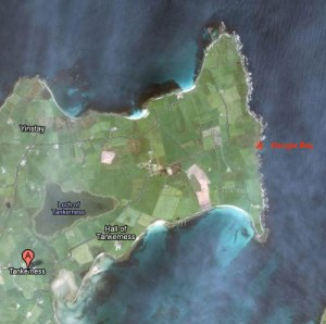 Hangie Bay on Google Maps