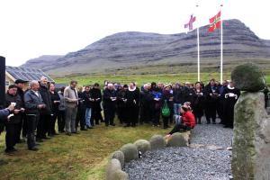 Plaque unveiled in Faroe Islands to remember crew of the Rachel
