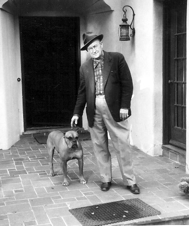 Ty Cobb pictured with his dog in 1953 which was 41 years after attacking a baseball fan on May 15, 1912 which culminated with a pickup Tigers team suffering a humiliating 24-2 loss to the Philadelphia Athletics on May 18 of that year.