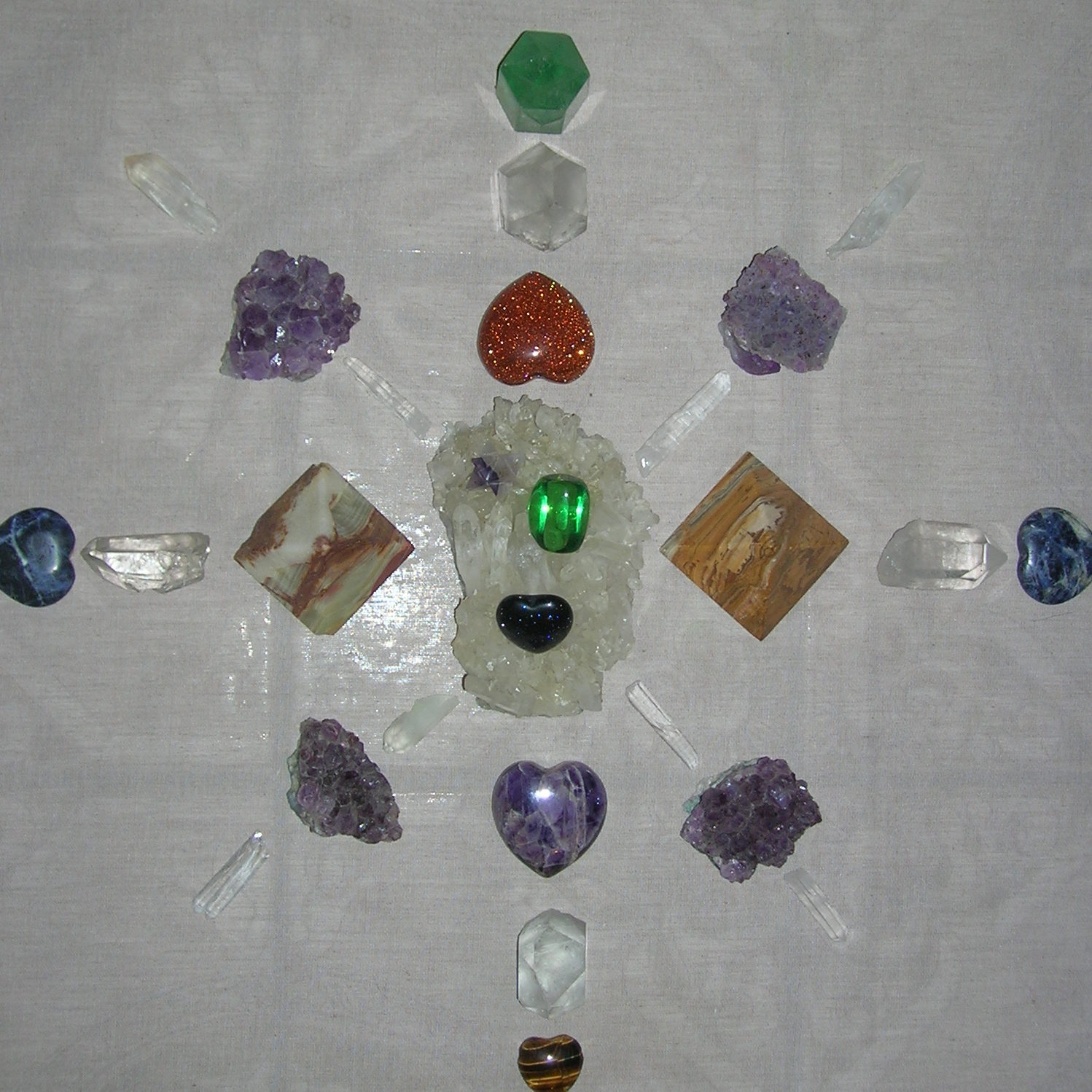 Healers, Energy Workers, Reiki's, Learn to use Crystal Grids for