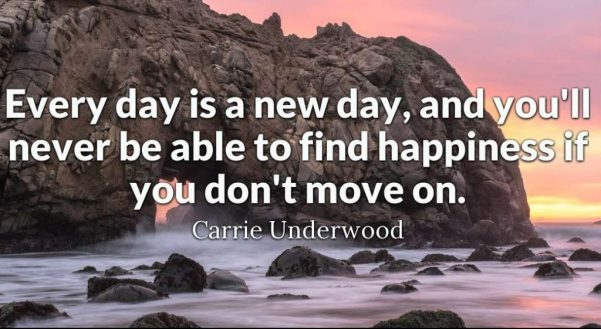 happiness move on good morning