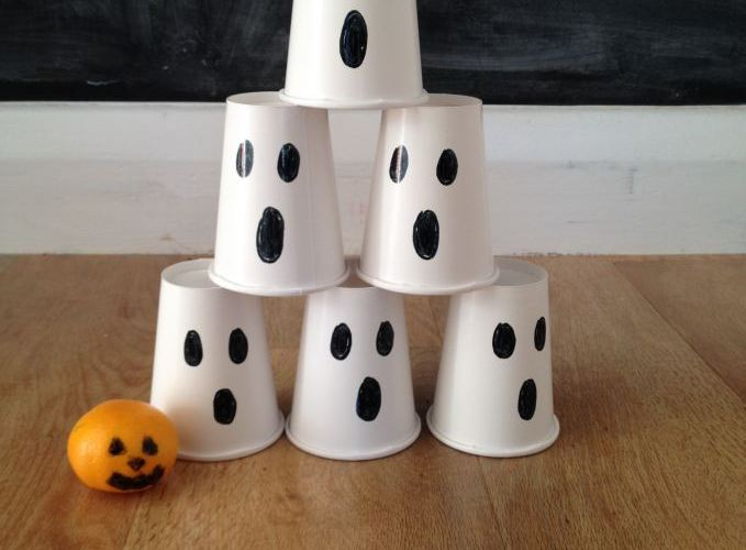 Halloween Ghost Bowling Game