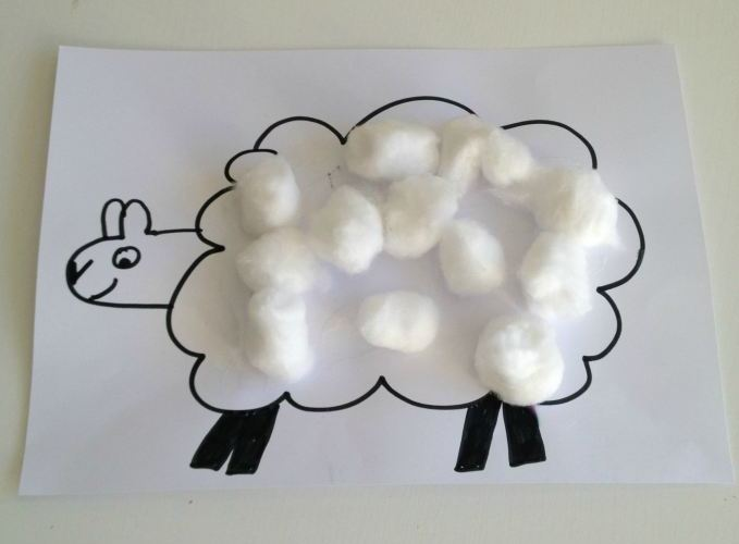 Cotton Wool Lambs