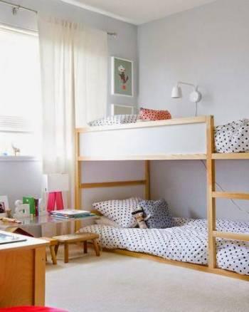 Mixed-sex sibling room sharing