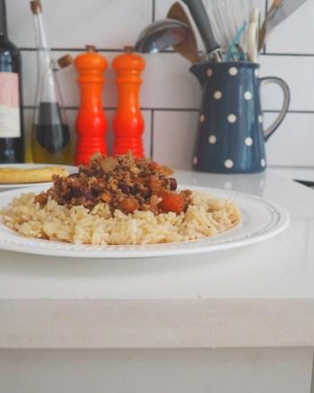 Pressure Cooker Chilli Con Carne Recipe with Prestige #NoPressure