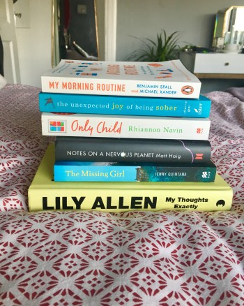 My latest reading pile – What I'm reading so far in 2019