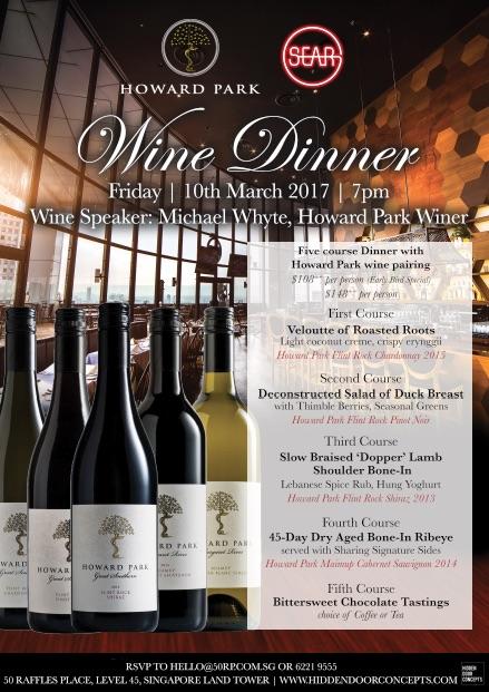 howard park wine dinner sear 100317