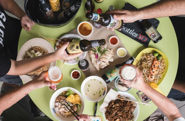 A crafty beer pairing with Singapore hawker food - SPIRITED/SG