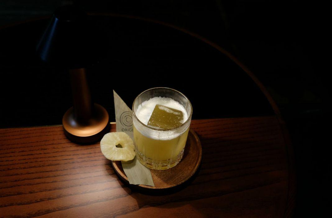 Origin Bar cocktail