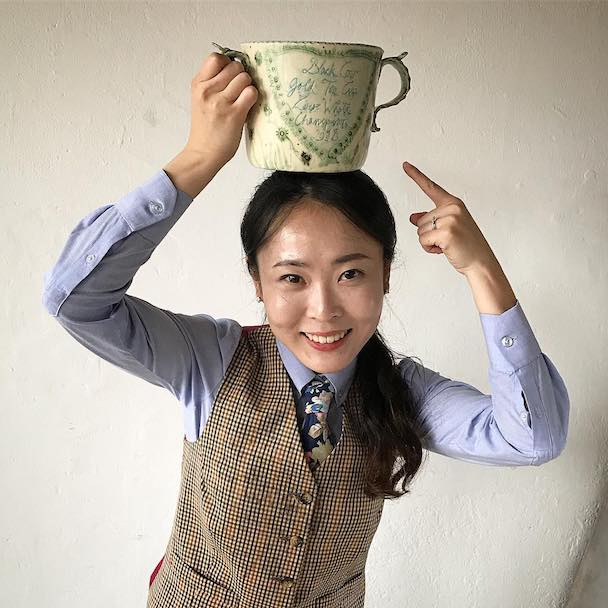 Black Cow Gold Top Cup bannie kang