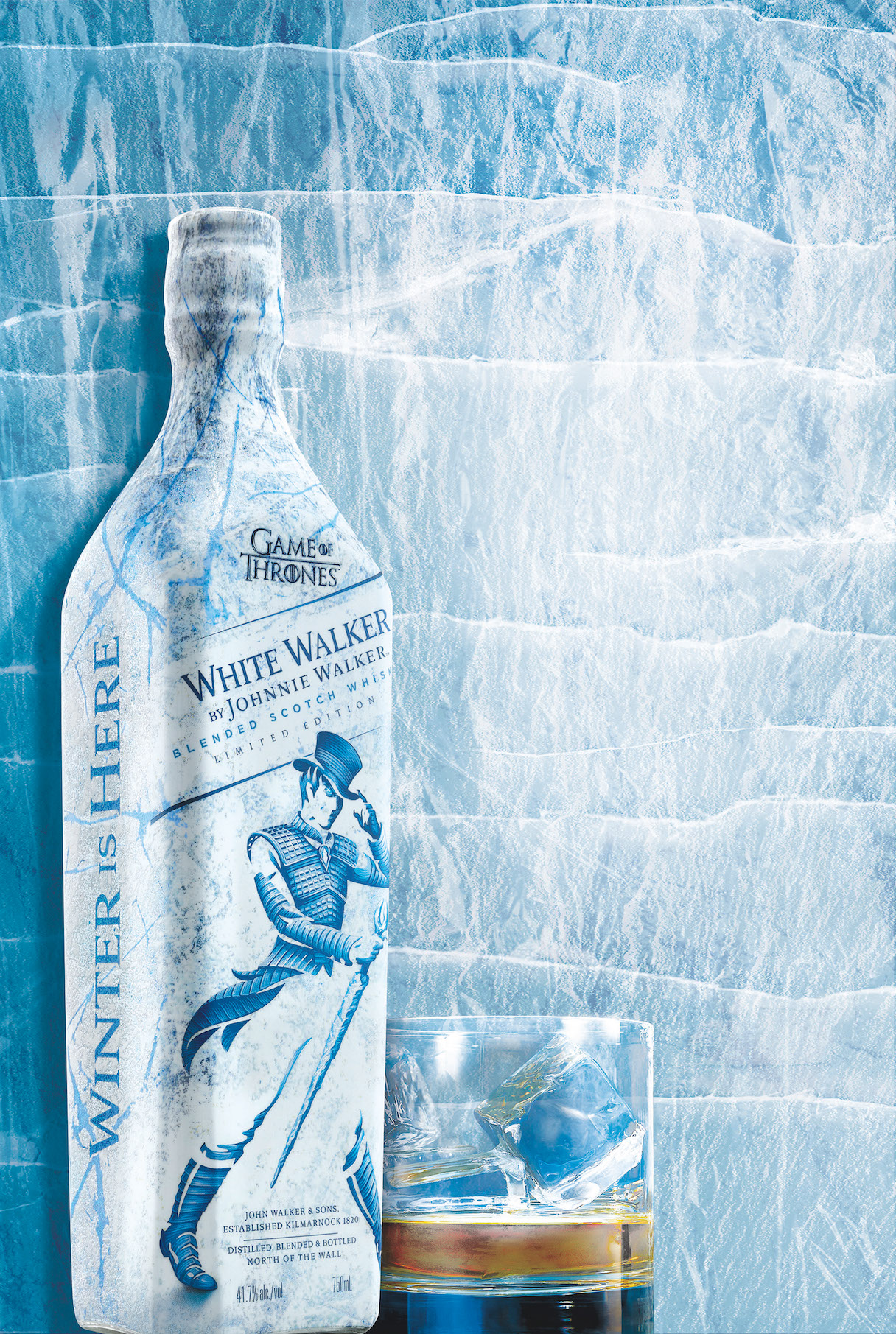 A cold, hard taste of Johnnie Walker's White Walker