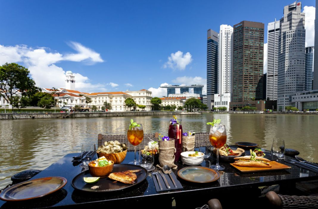 Eat and drink - The Sampan at Boat Quay