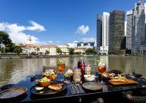 Eat and drink - The Sampan at Boat Quay