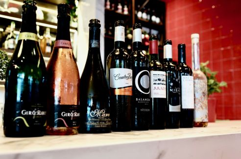 Eat and drink - wines at Tapas Club