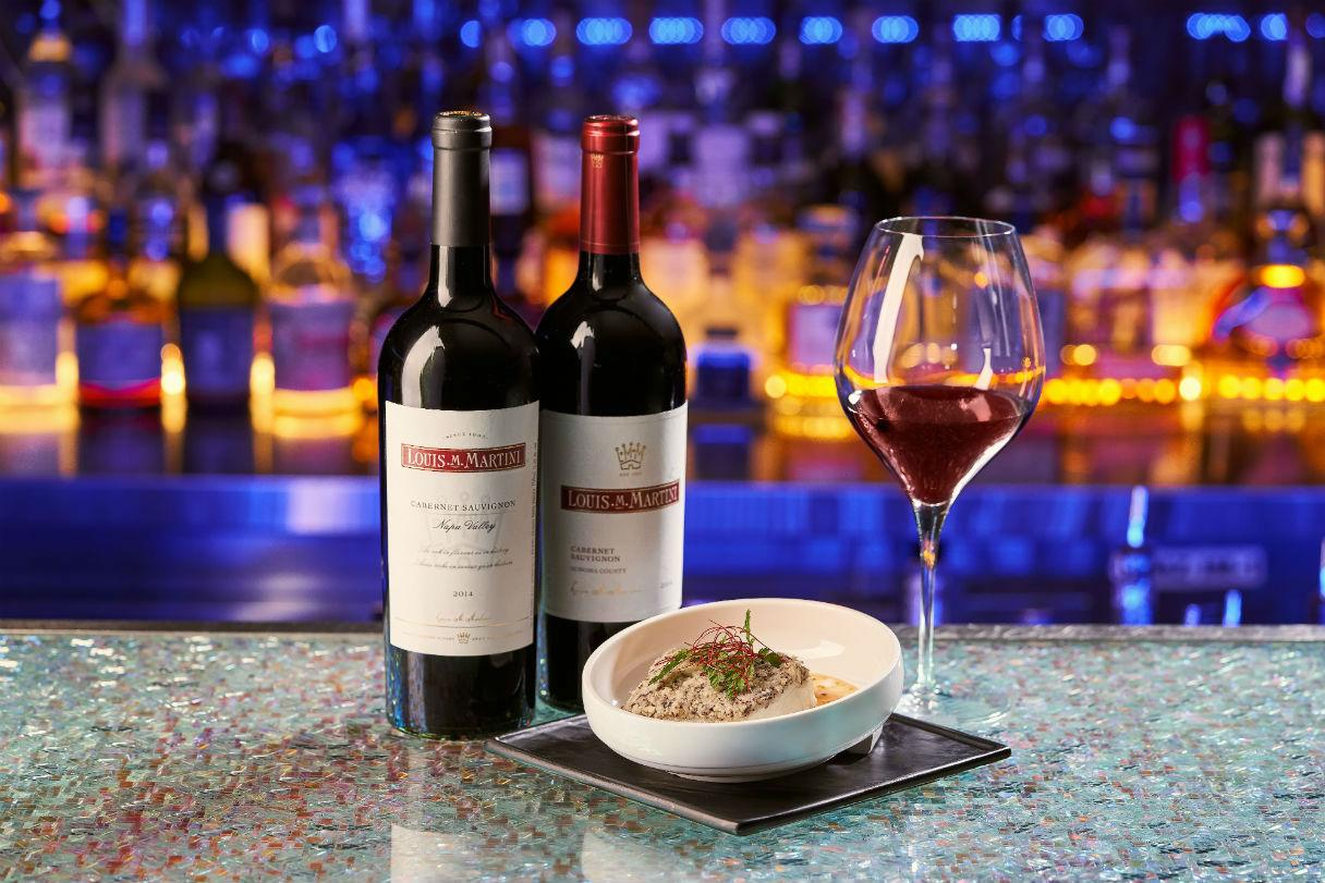 Louis M. Martini wine dinner