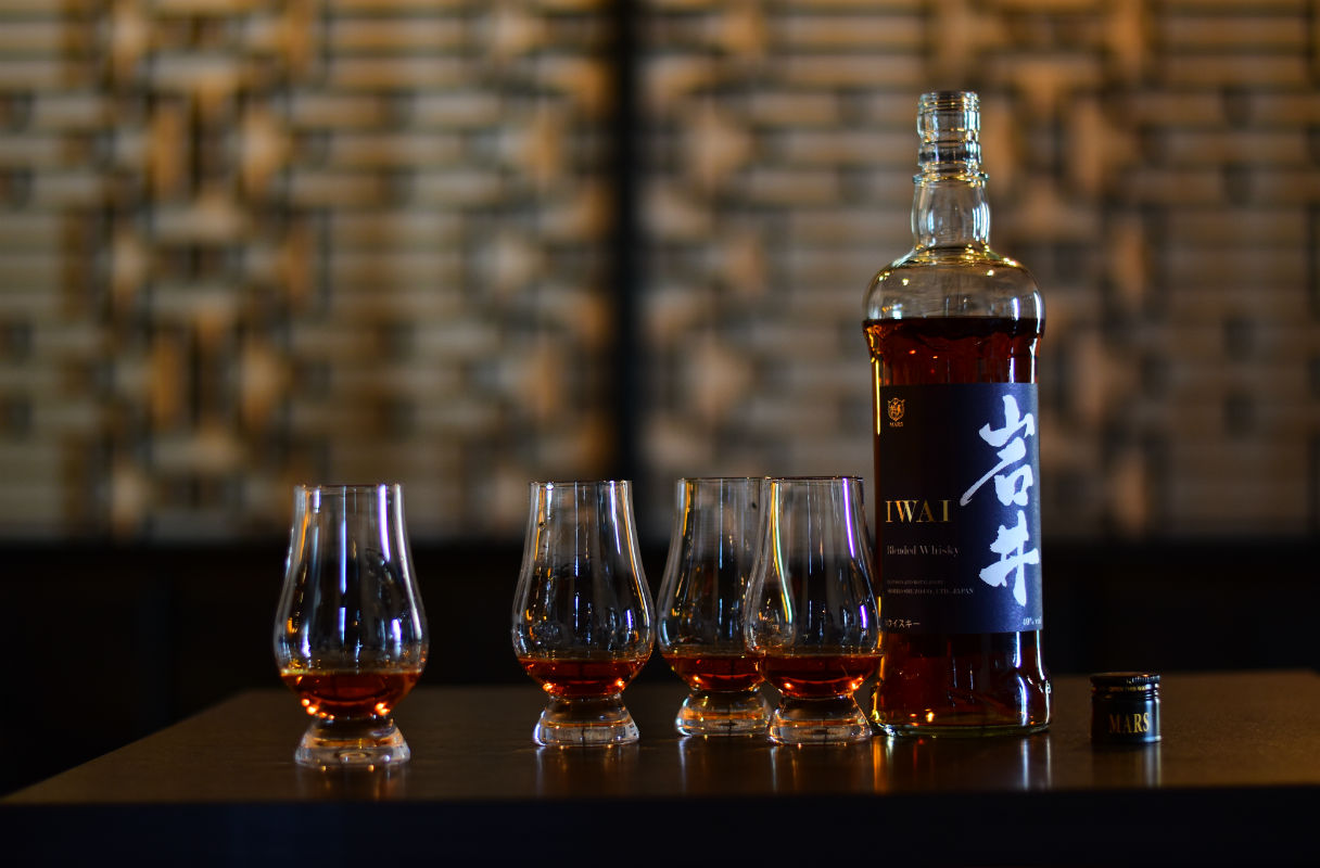 Mars Whisky officially lands its Iwai blended range in