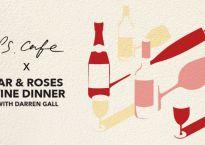 Tar & Roses wine dinner