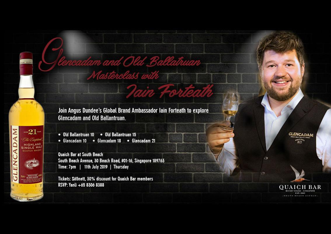 Glencadam and Old Ballantruan masterclass