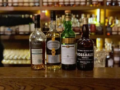 Rosebank independent bottlings