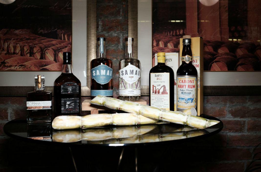 Origin's rum collection