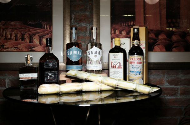 Origin's rum collection