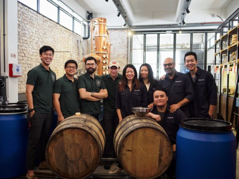 team behind the making of Singapore's first whisky