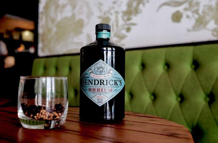 new gins in Singapore - hendricks orbium gin