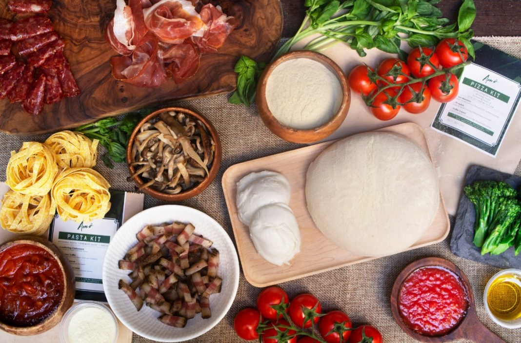 DIY meal kits - Amò Italiamo Pizza & Pasta Kits main
