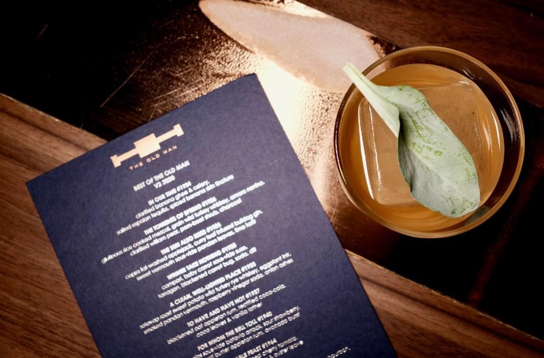 the old man singapore v2 menu - A Moveable Feast