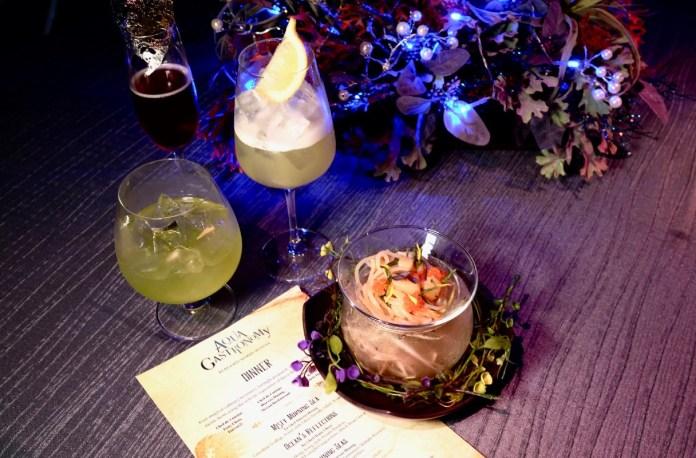 aqua gastronomy cocktails