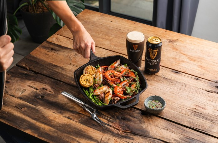 Guinness Great Grill Out 2020 indoors