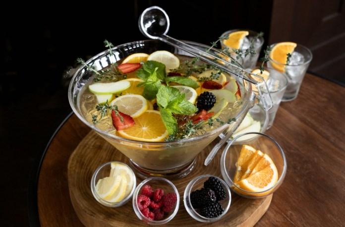 TXA Gastrobar Customizable Sangria Punchbowl