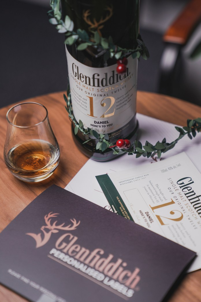 glenfiddich label personalisation service