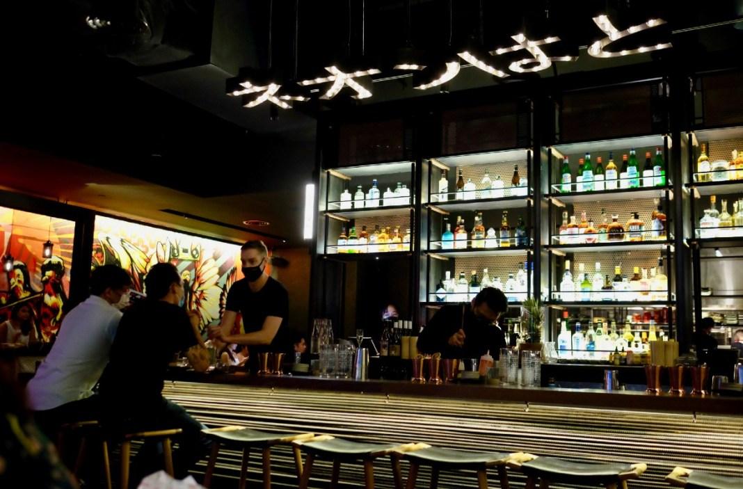neon pigeon 2.0 cocktail bar