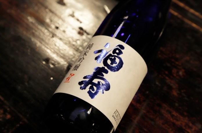fukuju sake blue label