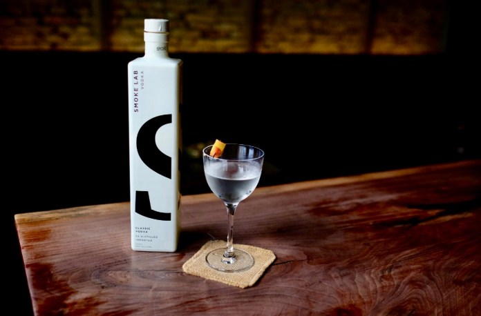 smoke lab vodka classic vodka martini