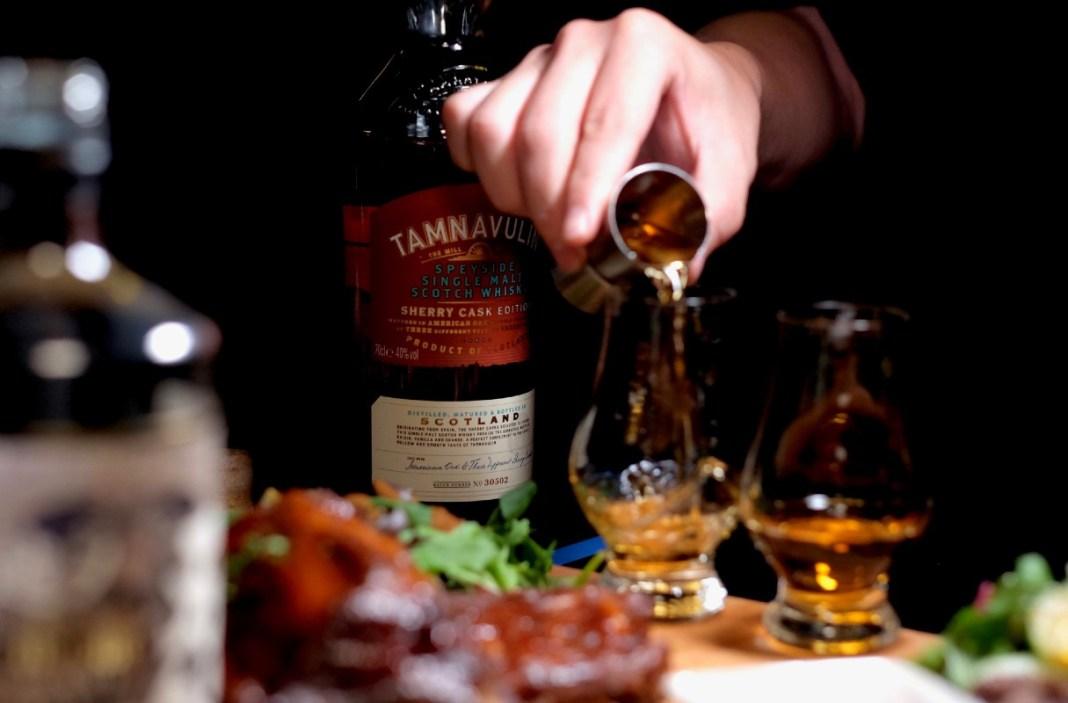 malts whisky bar - tamnavulin whisky