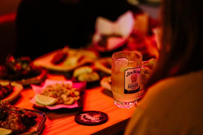Gudsht @ Cineleisure Jim Beam highballs and food